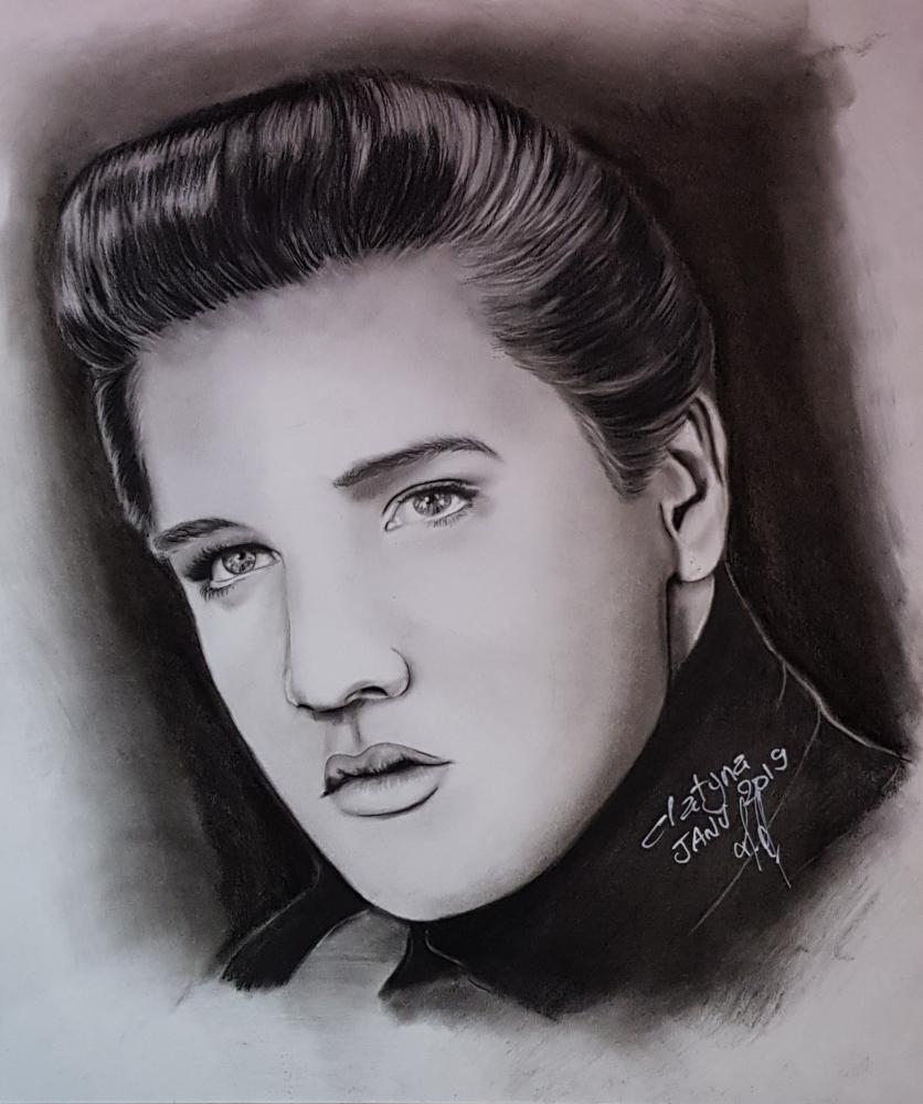 Elvis Presley por clatyna